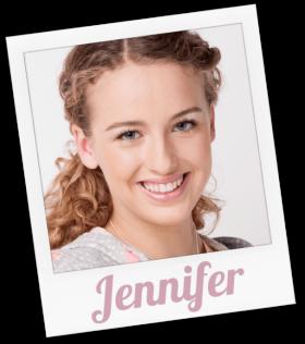 Jennifer wird gespielt von Amelie Arndt
