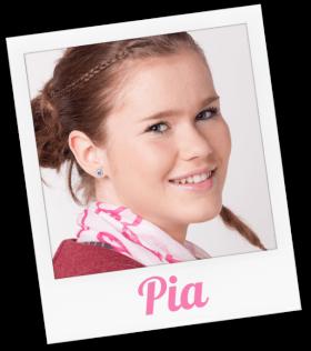 Pia wird gespielt von Laila Schuster